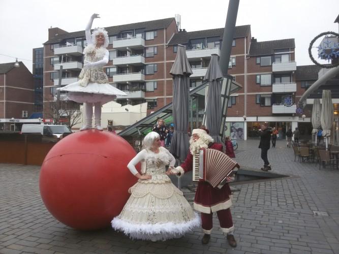 Kerst princess duo