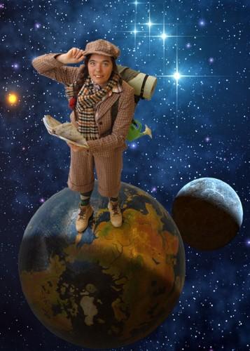 wereldwandelaar lost in space